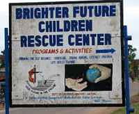 Schild Brighter Future Children Rescue Center